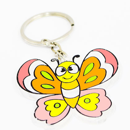 Suncatcher Keychain - Beautiful Butterfly - Kidcited Learning Store