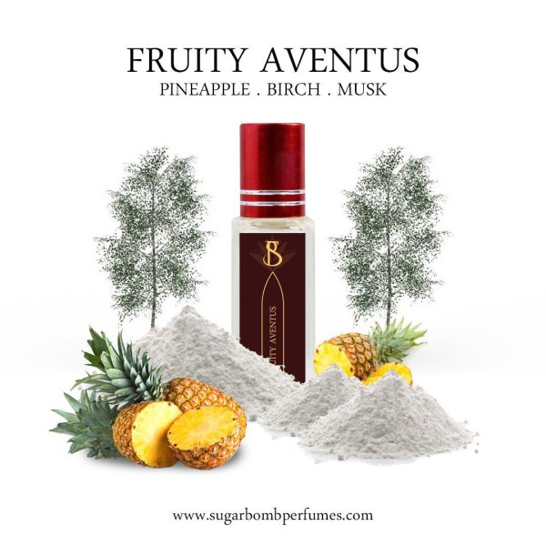 Fruity Aventus  EDP 8 ml  - Sugarbomb Perfumes