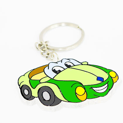 Suncatcher Keychain - Dashing Car - Kidcited Learning Store