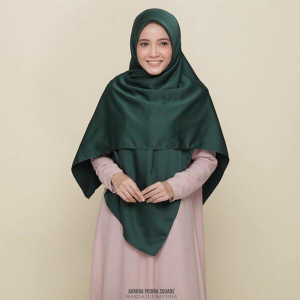 AURORA BASIC SQUARE - Wardatul Baydha Hijab