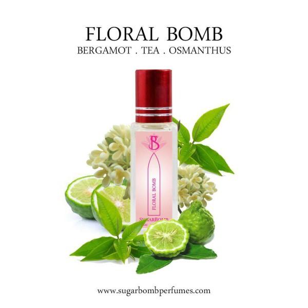 Floral Bomb EDP 8 ml    - Sugarbomb Perfumes