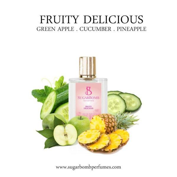 Fruity Delicious EDP 30 ml    - Sugarbomb Perfumes