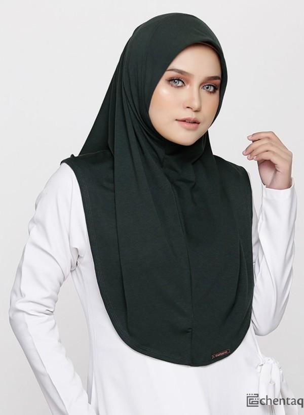 CHANTEQ QASEH ARLAA Dark Green - Zahusna