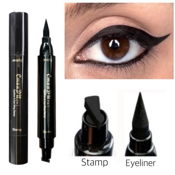 Eyeliner with Wing Stamps Tool - Nana Mahazan Beauty