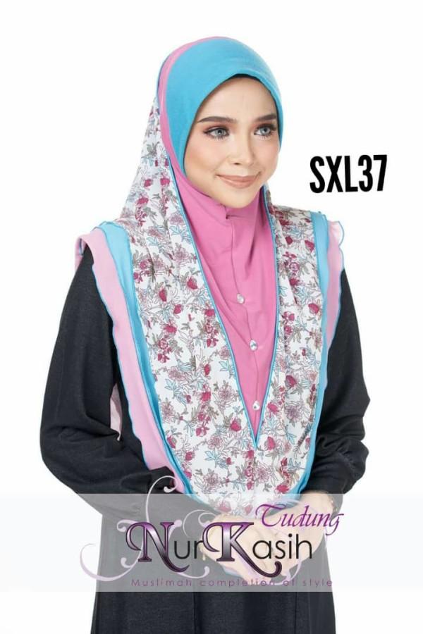 NURKASIH SHIBA Saiz XL Pink-turqoise - Zahusna