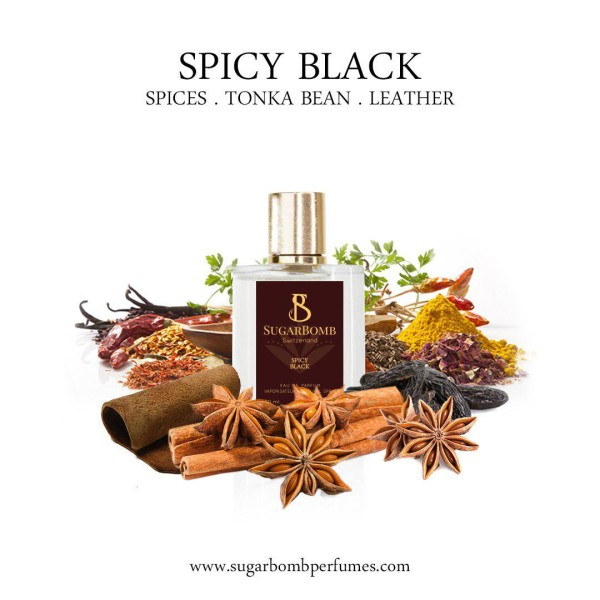 Spicy Black  EDP 30 ml (Black Friday) - Sugarbomb Perfumes