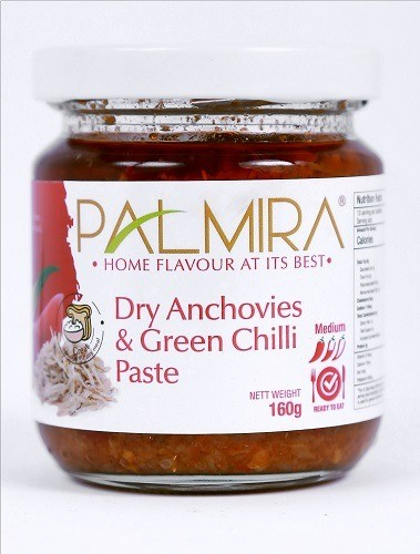 DRY ANCHOVIES AND GREEN CHILLI PASTE - doubletraders