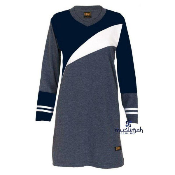 FM501 NAVY BLUE - Muslimah.com.my - Muslimah Online Shopping