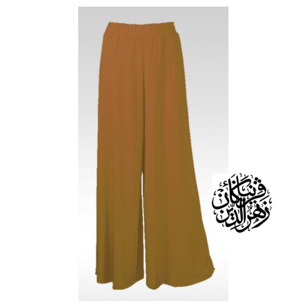 Pallazo Coklat - Muslimah.com.my - Muslimah Online Shopping
