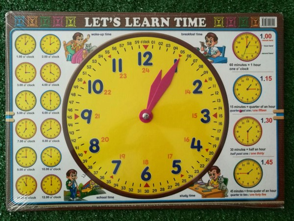 Let's Learn Time - Kidcited Learning Store