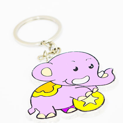 Suncatcher Keychain - Jumbo Elephant - Kidcited Learning Store
