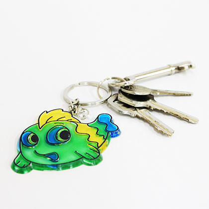 Suncatcher Keychain - Bubba Fish - Kidcited Learning Store