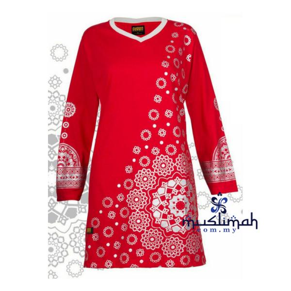 HR05 RED - Muslimah.com.my - Muslimah Online Shopping