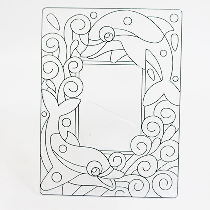 Suncatcher Frame - Dolphins - Kidcited Learning Store