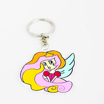 Suncatcher Keychain - Enchanting Fairy - Kidcited Learning Store