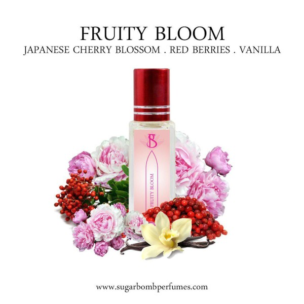 Fruity Bloom EDP 8 ml    - Sugarbomb Perfumes