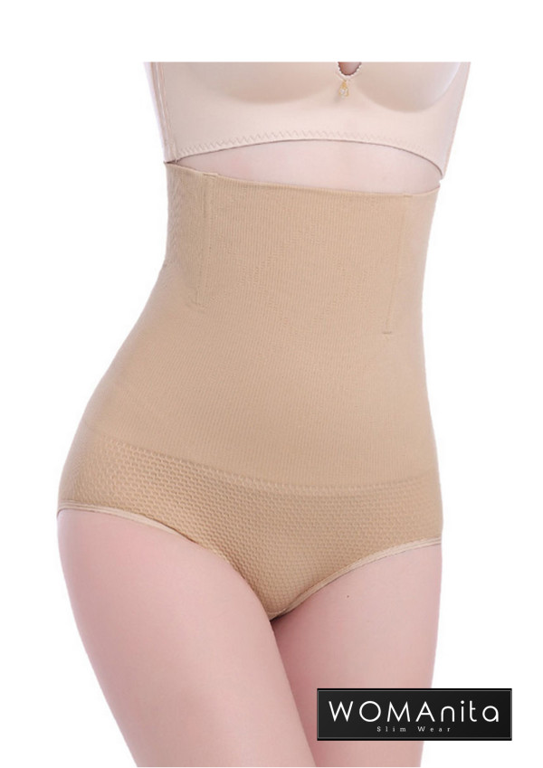 High Waist Slimming Panty (Skin) 3XL - WOMAnita Slimwear