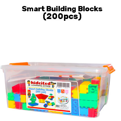 Smart Building Blocks (200pcs) - Kidcited Learning Store