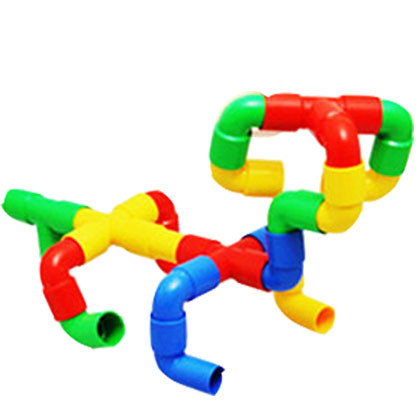 Pipe Construction for Kids (64 pcs) - Kidcited Learning Store