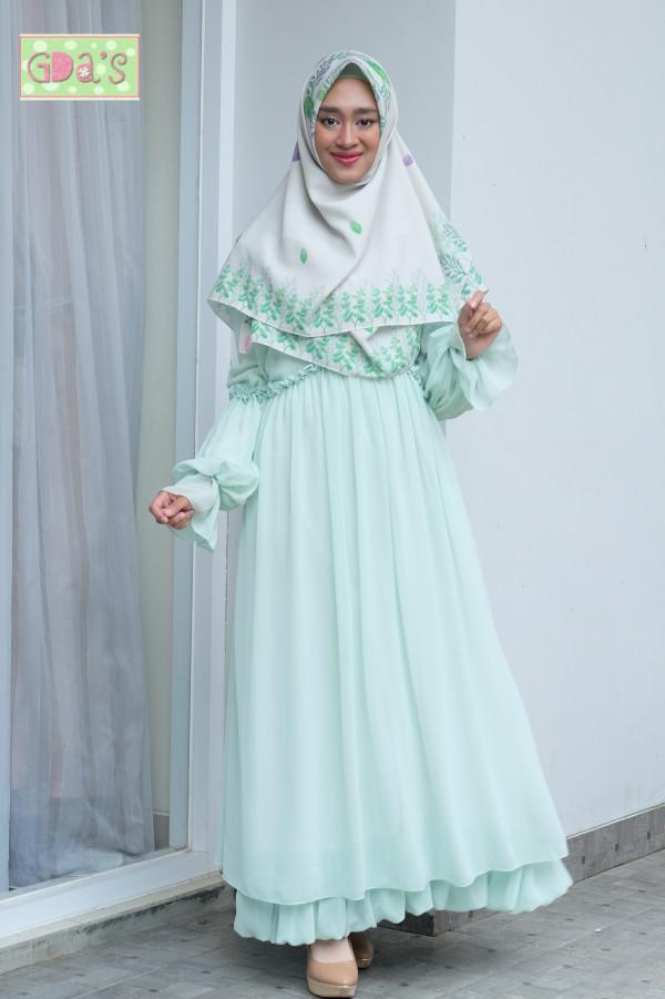 AYUNA DRESS MINT GREEN - GDa'S by Ghaida Tsurayya