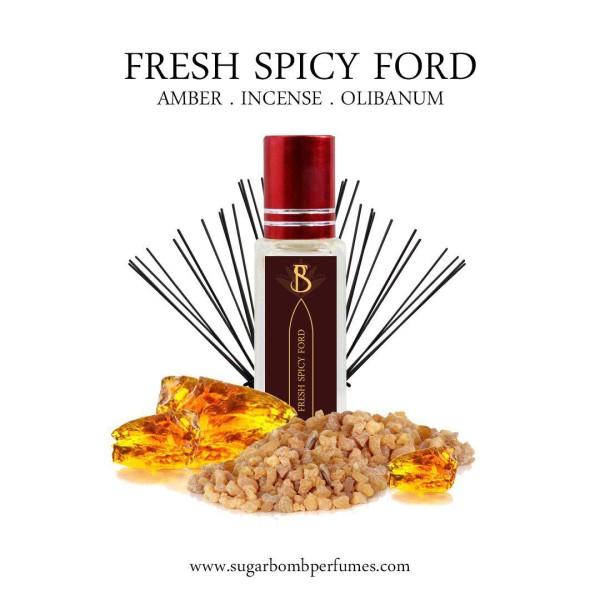 Fresh Spicy Ford EDP 8 ml   - Sugarbomb Perfumes