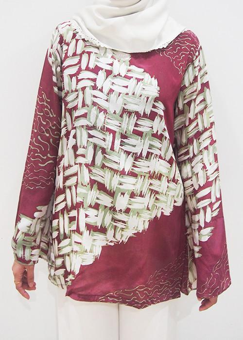 Cherry top (XL) - BUJINS Batik