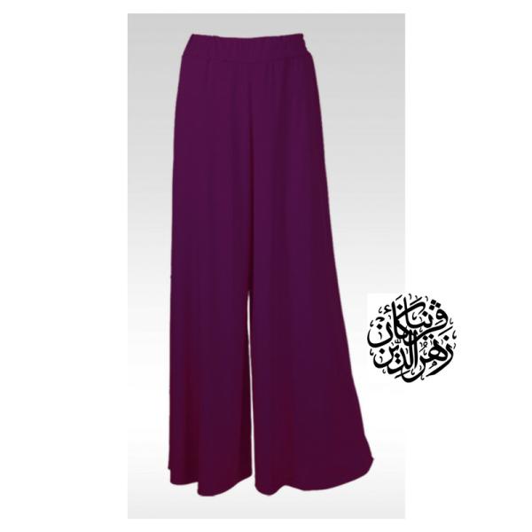 Pallazo Purple - Muslimah.com.my - Muslimah Online Shopping