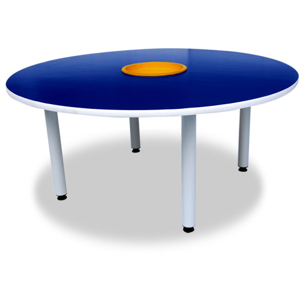 4' Round Table with Basket - Kidcited Learning Store