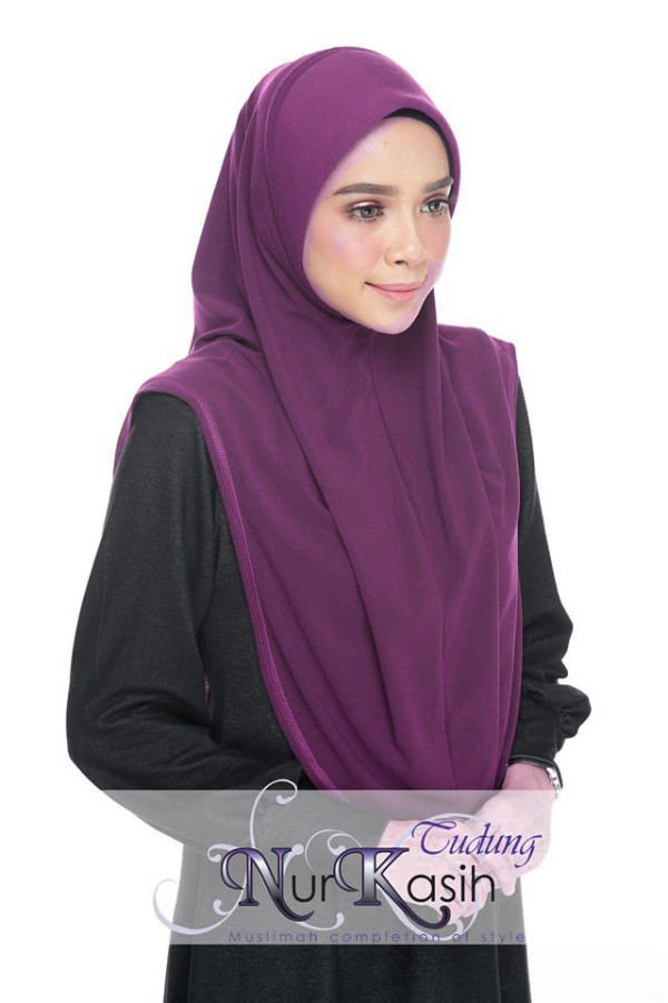 NURKASIH AFANIN L Dark Purple - Zahusna