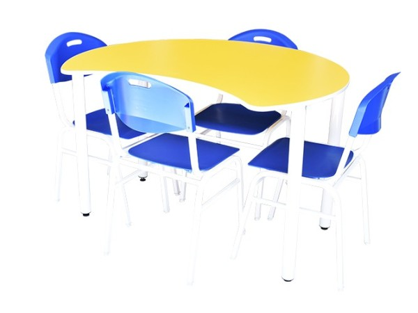 4' Moon Shaped Table - Kidcited Learning Store