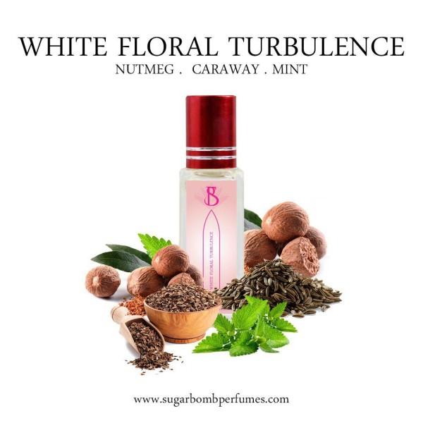 White Floral Turbulence EDP 8 ml  - Sugarbomb Perfumes