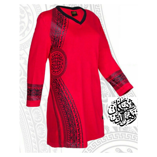 HR03 RED (LIMITED) - Muslimah.com.my - Muslimah Online Shopping