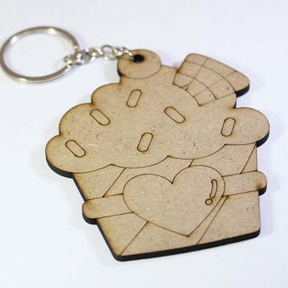 Wooden Keychain Ice Cream - Kidcited Learning Store