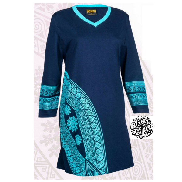 HR02 NAVY BLUE (LIMITED) - Muslimah.com.my - Muslimah Online Shopping