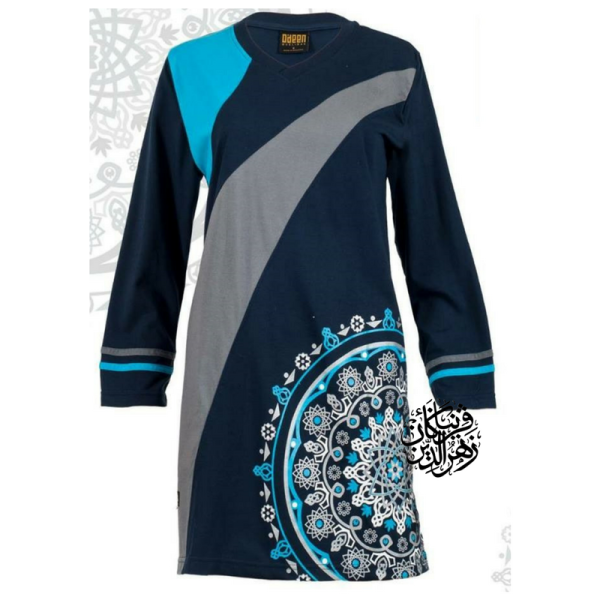 HR07 NAVY (LIMITED) - Muslimah.com.my - Muslimah Online Shopping