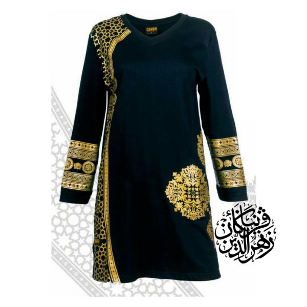 HR04 HITAM - Muslimah.com.my - Muslimah Online Shopping