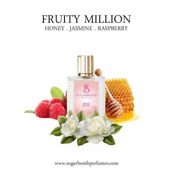 Fruity Million EDP 30 ml   - Sugarbomb Perfumes