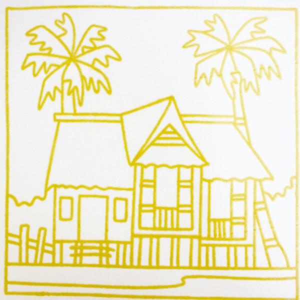 Batik Painting Set - Kampung House (101)  - Kidcited Learning Store