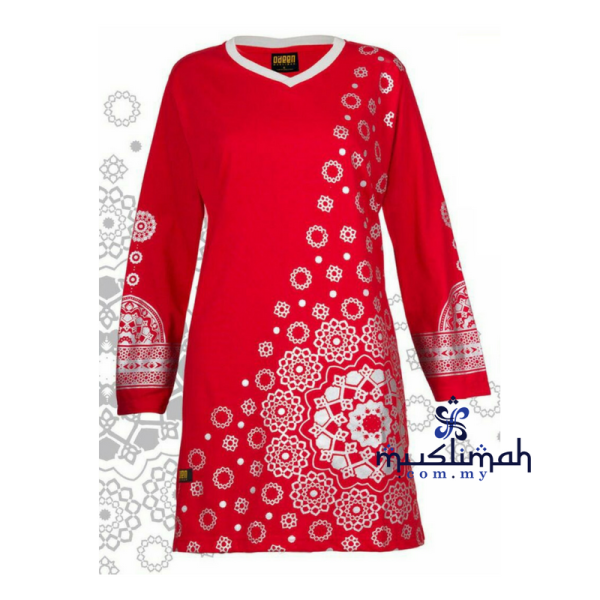 HR05 RED (LIMITED) - Muslimah.com.my - Muslimah Online Shopping