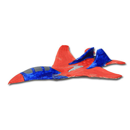 Paper Mache - Jet Fighter - Kidcited Learning Store