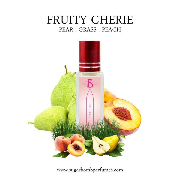Fruity Cherie EDP 8 ml    - Sugarbomb Perfumes