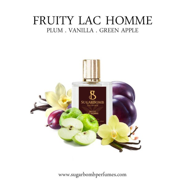 Fruity Lac Homme EDP 30 ml (Black Friday) - Sugarbomb Perfumes