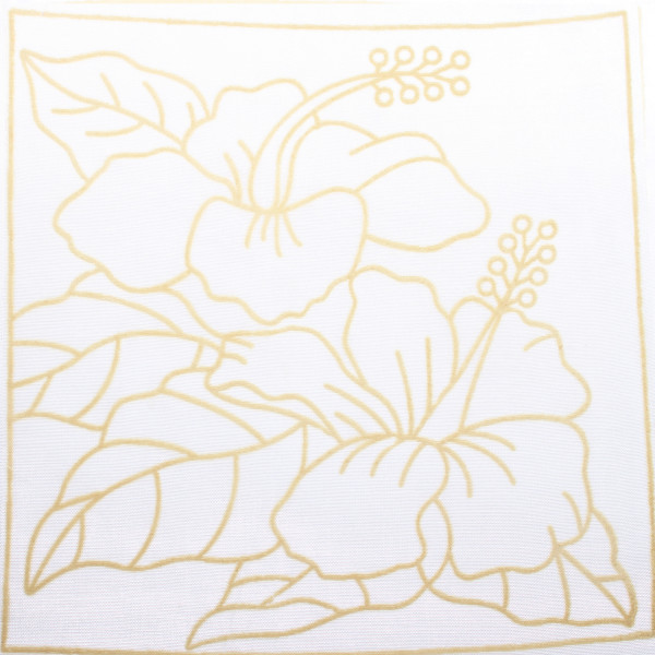 Batik Painting Set - Hibiscus Flower (123) - Kidcited Learning Store
