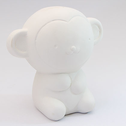 Ceramic Coin Bank (L) - Monkey - Kidcited Learning Store