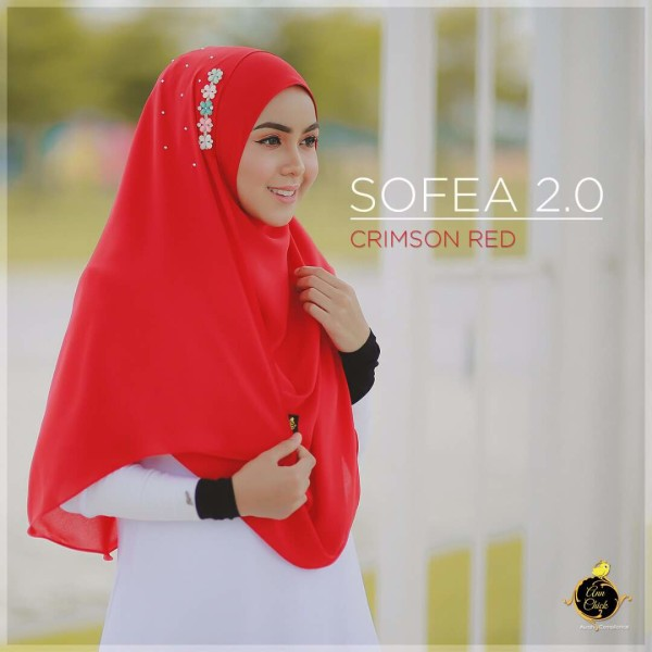 SOFEA 2.0 Crimson Red - Zahusna