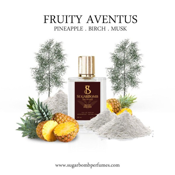 Fruity Aventus  EDP 30 ml  - Sugarbomb Perfumes