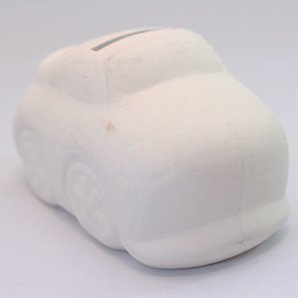 Ceramic Coin Bank (S) - Car - Kidcited Learning Store