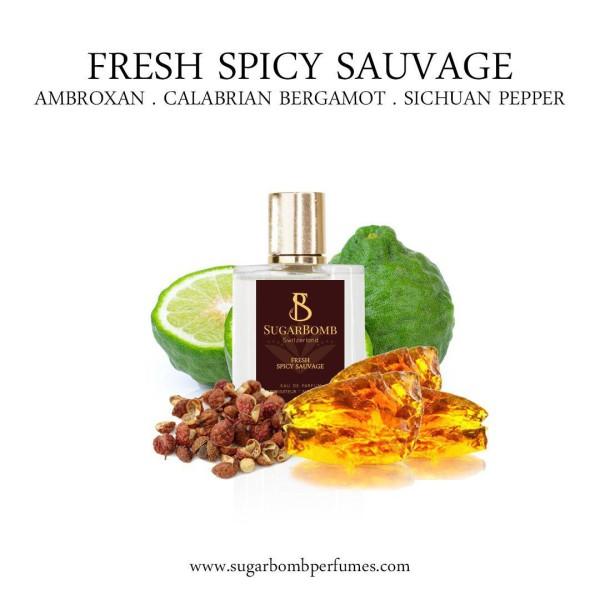 Fresh Spicy Sauvage EDP 30 ml (Black Friday) - Sugarbomb Perfumes