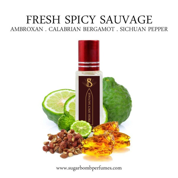 Fresh Spicy Sauvage EDP 8 ml   - Sugarbomb Perfumes