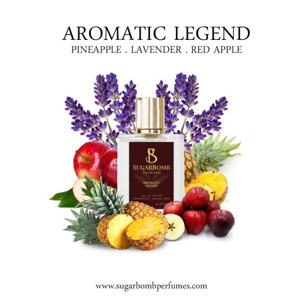 Aromatic Legend EDP 30 ml   - Sugarbomb Perfumes